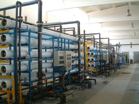 反渗透系统在工业水处理应用