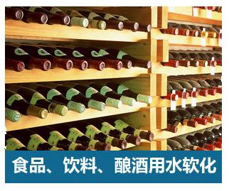 食品、饮料、酿酒软化水设备