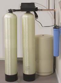 1吨单阀双罐软化水设备