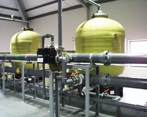 50吨双阀双罐软化水设备