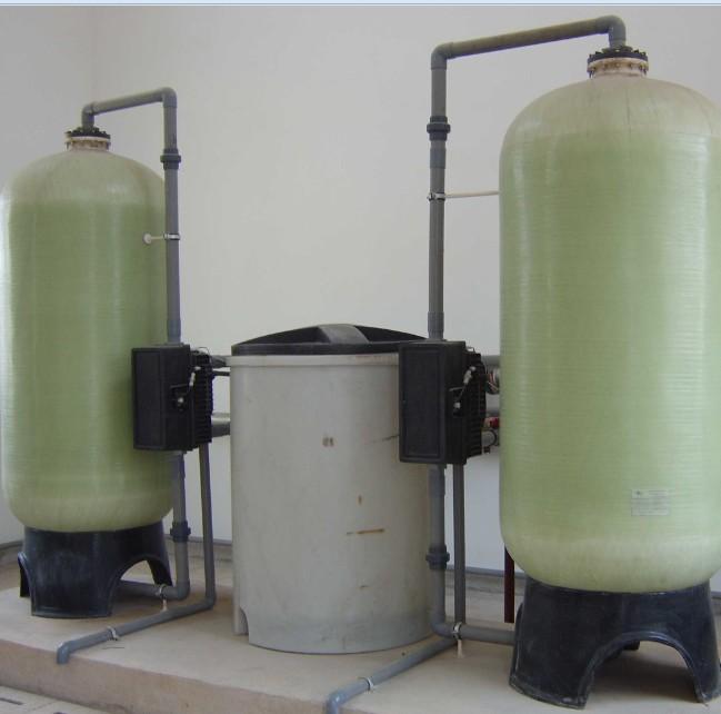 30吨双阀双罐软化水设备