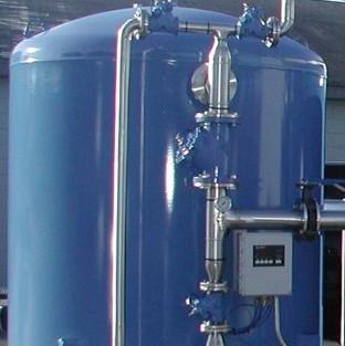 50吨单阀单罐软化水设备