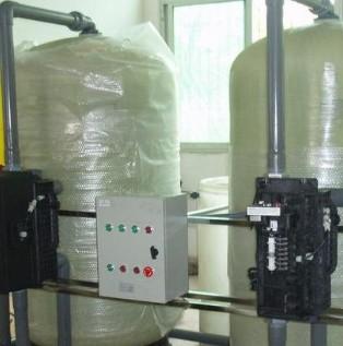 40噸雙閥雙罐軟化水設備