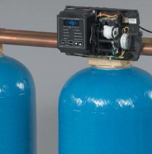 3噸單閥雙罐軟化水設備