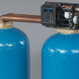 1噸單閥雙罐軟化水設備