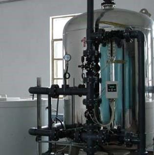 20吨单阀单罐软化水设备