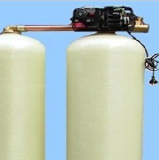 8吨单阀双罐软化水设备